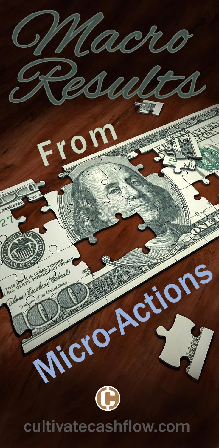 macro results micro actions money freedom