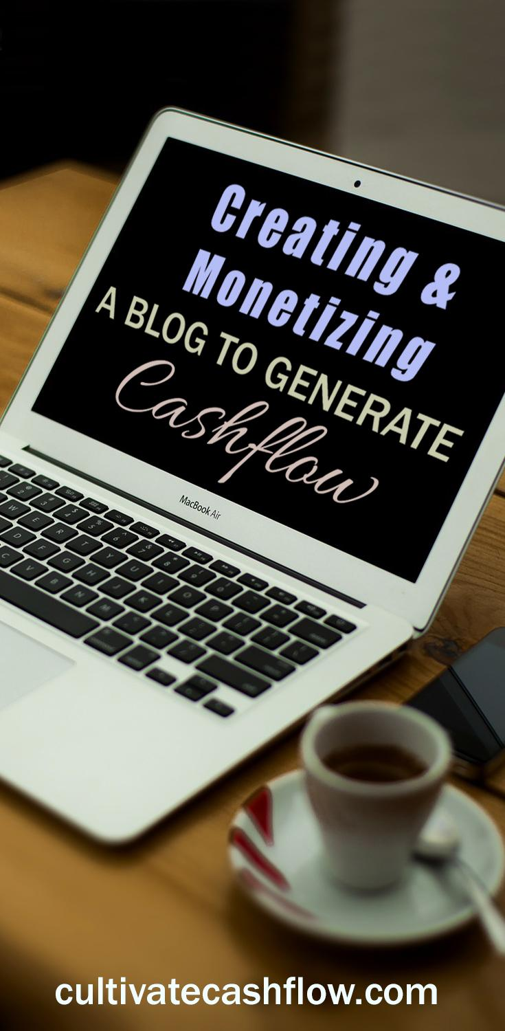 create monetize blog generate cashflow